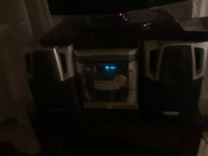 Awia stereo and speaker combo for Sale in Austin, TX