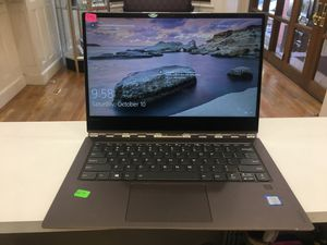 LAPTOP LENOVO YOGA FLIP OVER TOUCH SCREEN15inch CORE i7 8th GENERATION 1.99 GHz RAM 8GB 256GB SSD for Sale in Boston, MA