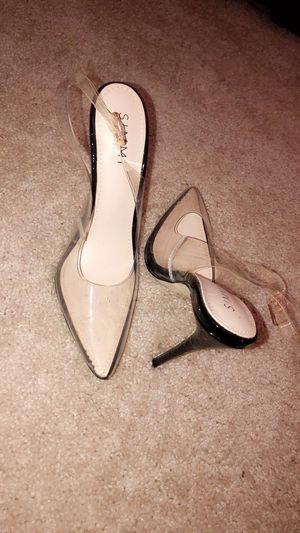 Simmi shoes-clear heel for Sale in Buffalo, NY