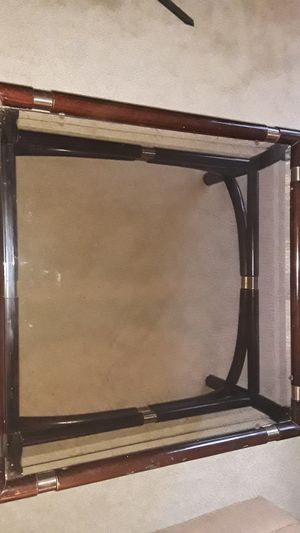 Glass wooden Table for Sale in Englishtown, NJ