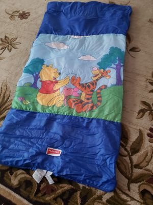 Kids sleeping bag great for camping for Sale in Manassas Park, VA
