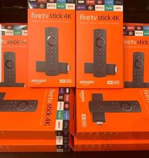 All New HDR Fire TV Stick With Voice+ Power Controls for Sale in Pasadena, TX