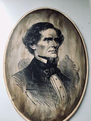 Jefferson Davis Portrait for Sale in Raleigh, NC