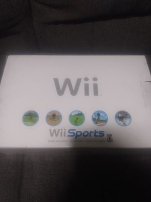 Wii sports console for Sale in Las Vegas, NV