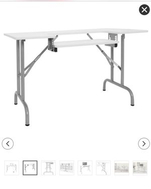 Folding Multipurpose/Sewing Table for Sale in East Wenatchee, WA