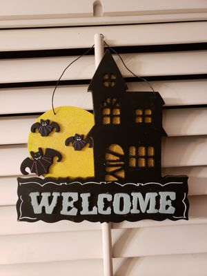Welcome hanging sign for Sale in Gardena, CA