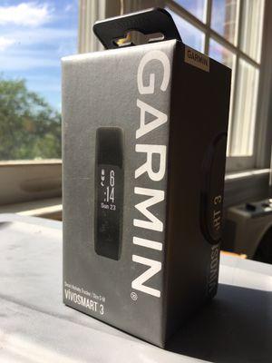 NEW Garmin VivoSmart 3 Fitness Tracker (S/M) for Sale in Chapel Hill, NC