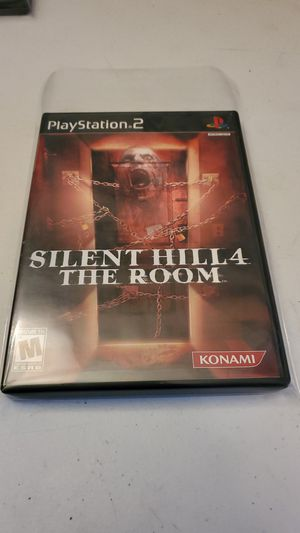 Silent Hill 4 the Room Ps2 Sony Playstation 2 Konami Rare High Grade Fully Tested for Sale in Fresno, CA
