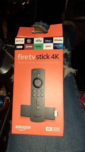 Fire TV Stick 4k!! Newww for Sale in Los Angeles, CA