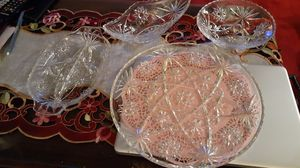 4 piece Vintage Early American Prescut. Depression glass . for Sale in Kingsley, PA