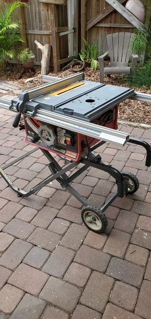 "Table Saw, 10"" Craftsman, portable for Sale in Orlando, FL"