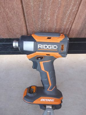 IMPACT DRILL RIDGID BATTERY NOT INCLUDED for Sale in Phoenix, AZ