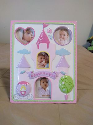 Princess baby picture frame for Sale in Knoxville, TN