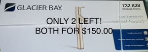 Glacier Bay fountain faucet for Sale in Hempstead, NY