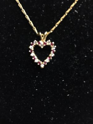 14kt Gold Chain and Charm for Sale in Fayetteville, NC