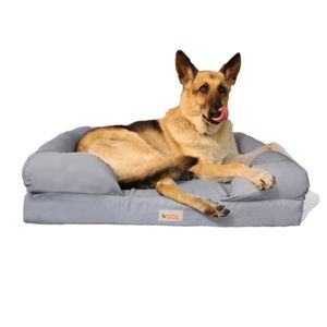 """Large 36""""L dog bed memory foam waterproof and washable cover for Sale in Ontario, CA"""