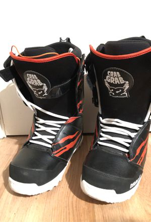 Men' Snowboard Boots Thirtytwo size 8.5 Lashed Crab Grab for Sale in Milpitas, CA