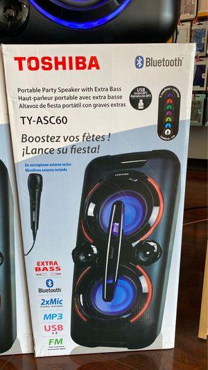 Toshiba TY-Asc60 Bluetooth speaker for Sale in Saint Ann, MO