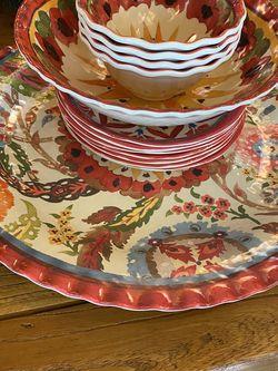 Pottery Barn Melamine Plates/ Platter/ Bowls for Sale in Rockville,  MD