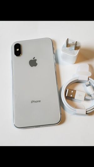 iPhone X 64GB Factory Unlocked Excellent Condition for Sale in Springfield, VA