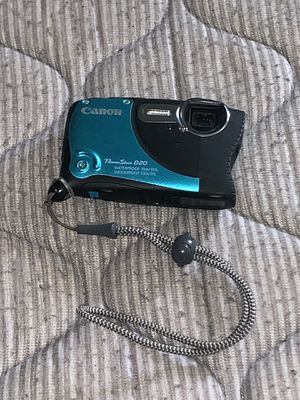 Canon PowerShot D20 (waterproof digital camera) for Sale in Austin, TX