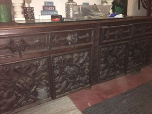 Antique Presidential desk for Sale in undefined