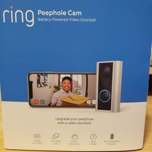 Ring Peephole Security Camera for Sale in North Chesterfield, VA