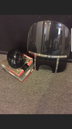 Bicycle windshield and DOT helmet for Sale in Washington, DC