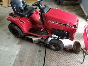 "Honda lawn tractor mower 4514 38"" deck for Sale in Elk Grove Village, IL"