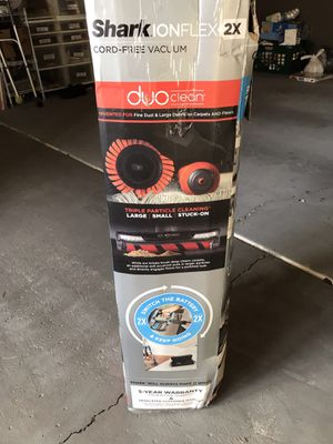 New Shark IONFlex 2X DuoClean Cordless Ultra-Light for Sale in Orland Park, IL