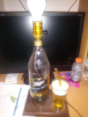 Mgd 40oz beer lamp for Sale in Riverview, MI