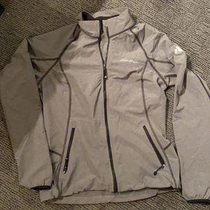 Women's Gray Eddie Bauer Wind Breaker Jacket, SM for Sale in CO, US