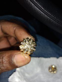 14k gold & diamond 💎 earrings for Sale in Randolph,  MA
