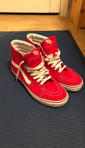 Red high top Vans for Sale in Seattle, WA