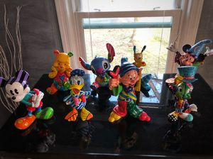 Disney by Britto figurines for Sale in Silver Spring, MD