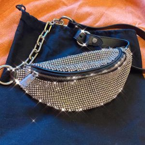 Alexander Wang attica rhinestone mini fanny pack crossbody purse bag for Sale in San Francisco, CA