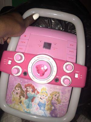 Disney karaoke/cd player for Sale in Baltimore, MD
