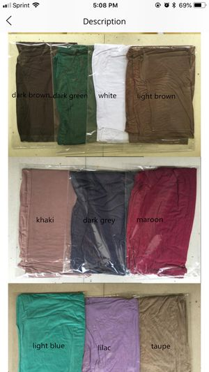 !10 each scarf for Sale in Boston, MA