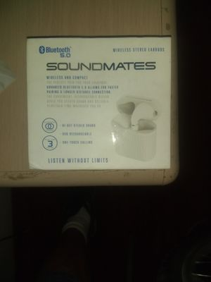 Soundmates wireless earbuds for Sale in Bakersfield, CA
