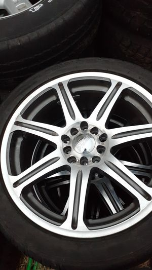 Federal tires, primax rims, 215/ 45 R17 came off 03 Mustang for Sale in Portland, OR