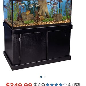 completed fish tank with light , heater,filter,andair punp for Sale in East Hartford, CT