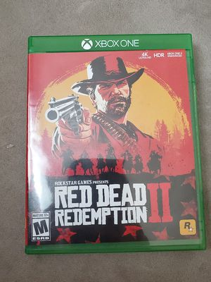 XBOX ONE RED DEAD REDEMPTION II MINT CONDITION COMPLETE 2 DISCS W/ MAP! for Sale in Chatsworth, CA