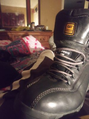 Caterpillar mens work boots for Sale in Pompano Beach, FL