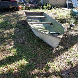 "12' Aluminum ""V"" Bottom Boat for Sale in Riverview, FL"