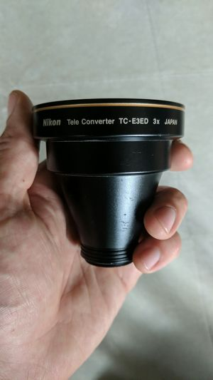 Nikon Tele Converter TC-E3ED 3x Japan for Sale in Seattle, WA