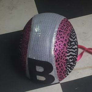 Girls Sparkly Bicycle Helmet With The Letter B. Brand New Condition for Sale in Niles, IL