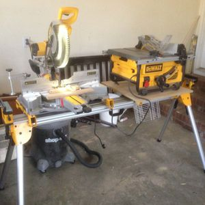 Wanted Chop And Table Saw for Sale in Spanaway, WA