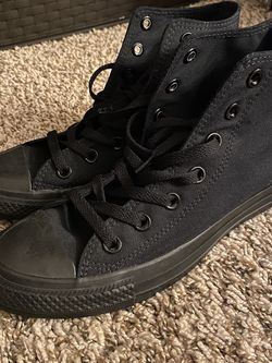 Black Converse Size 7 -Brand New- for Sale in Littleton,  CO