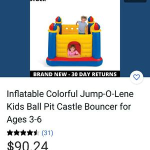 Inflate Colorful Jum for Sale in Frederick, MD
