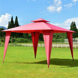 11ft x 11ft Steel Gazebo Canopy Tent (shipping only) for Sale in Carrollton, TX